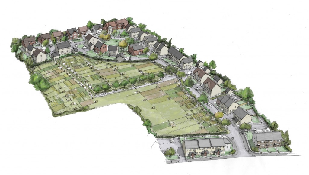 Greenway Lane artist impression