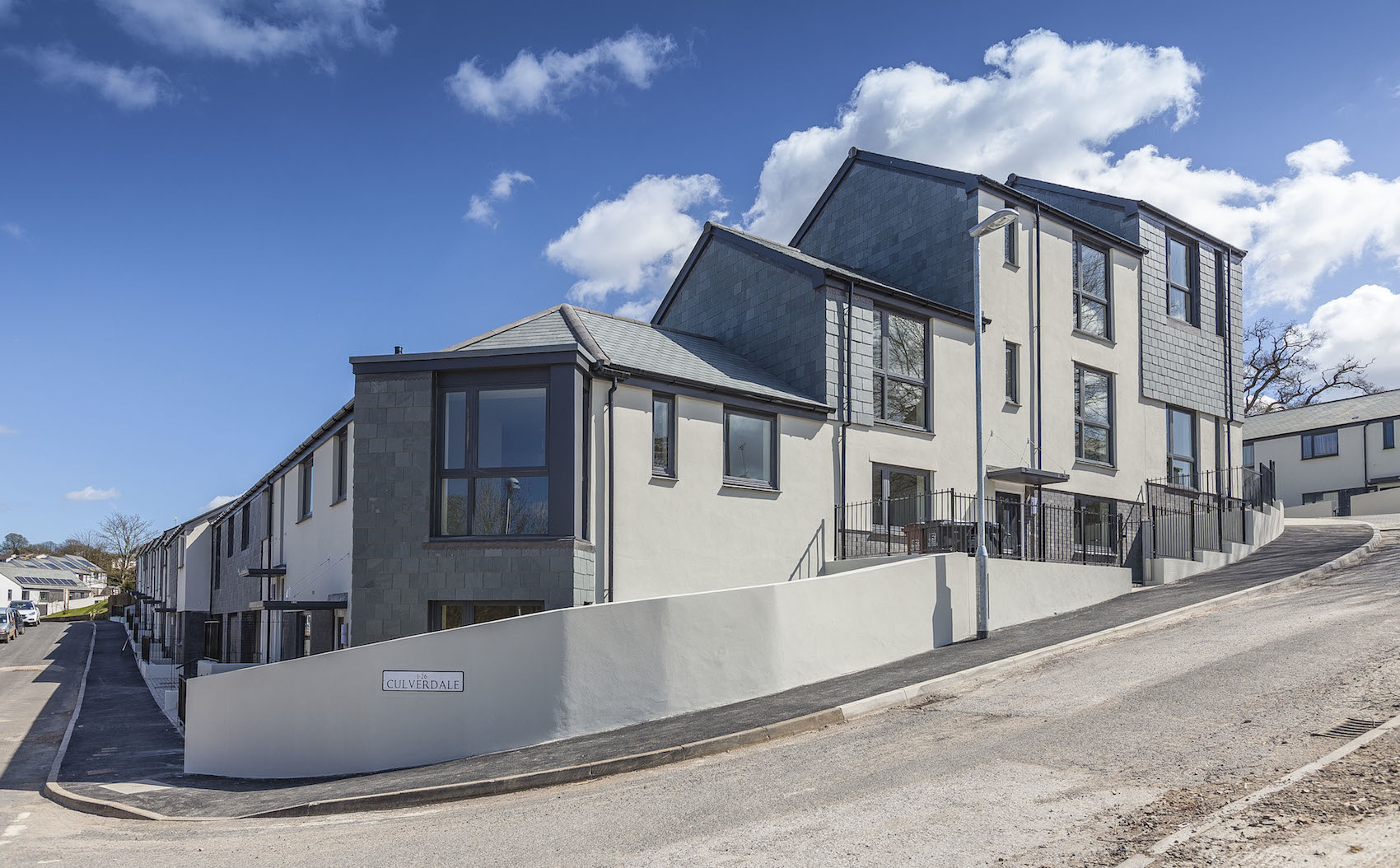 Captivating ... Homes Code 4 And Well Above Current Regulatory Standards, The 58 Houses  And Flats Sit On A Steeply Sloping Site In The Bridgetown Area Of Totnes,  ...