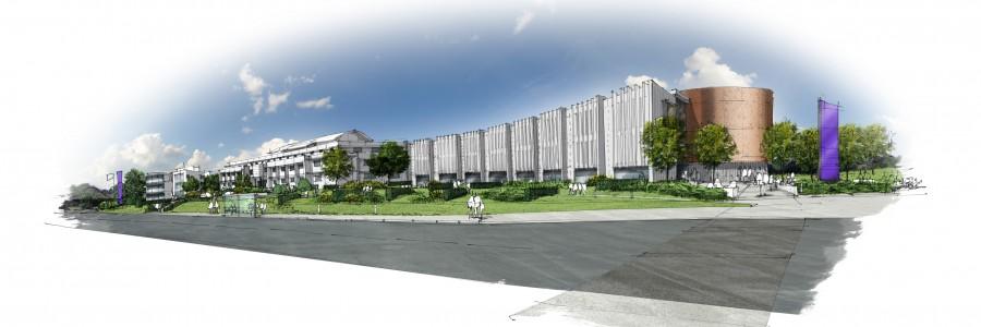 151005 - High Tech Building, South Devon College - Artists Impression 01 Render