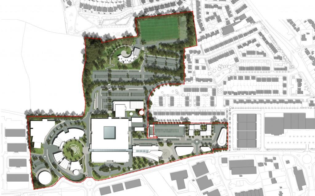 151119 - South Devon College - Masterplan November 2015 - Option