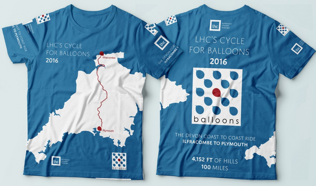 2016 Charity Cycle T-shirt Mockup crop
