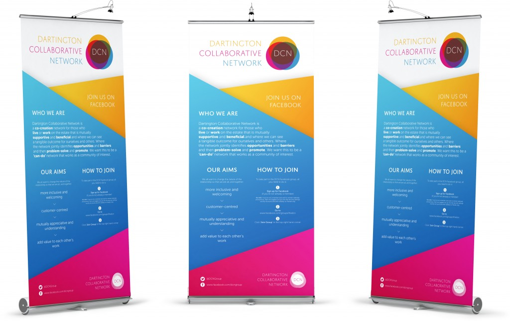 Dartington Collaborative Network Banners White Backgrounds