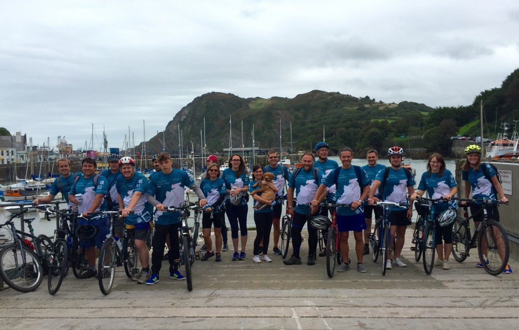 Ready for the off on Ilfracombe Harbour